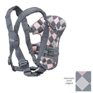 Infantino EuroRider in Charcoal with Pink Argyle